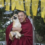 Lama Namgay with Betty