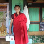 Tenzin our 1st aid nurse