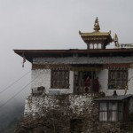 The upper Lhakhang near where Phajo meditated