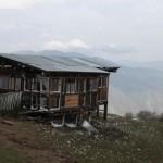 Lama Namgay's humble dwelling
