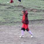 Keeping warm on the football field