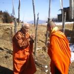 Gyalwa Shakya Rinchen tulku greeting Yanglop