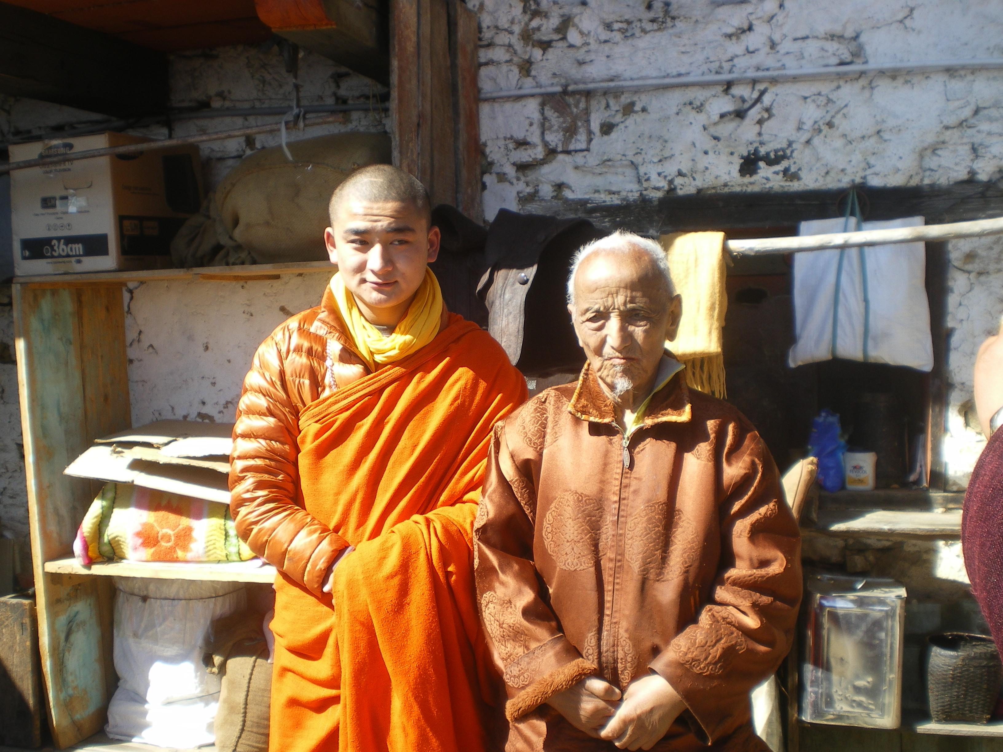 GW Rinpoche & Yanglop